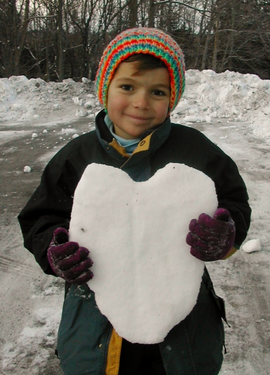 snow heart (2)
