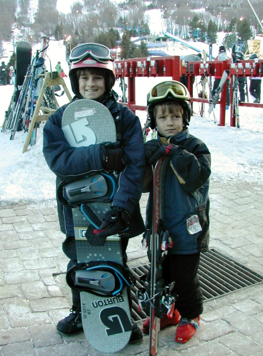 snowboard ski snow